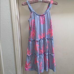 Lilly Pulitzer Peri Rum Swizzle Loro Dress XS